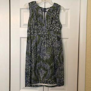 Trina Turk Pattern Midi Dress